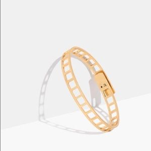 Madewell ladder bracelet / tracecraft bangle